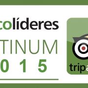 Logo ecolideres platinum 2015 tripadvisor
